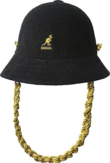 be8abefd18d Kangol Knit Chain Casual Bucket Hat at Amazon Men s Clothing store