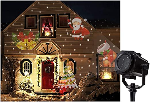 Proyector LED Para Luces De Navidad Proyector De Paisaje Para La ...