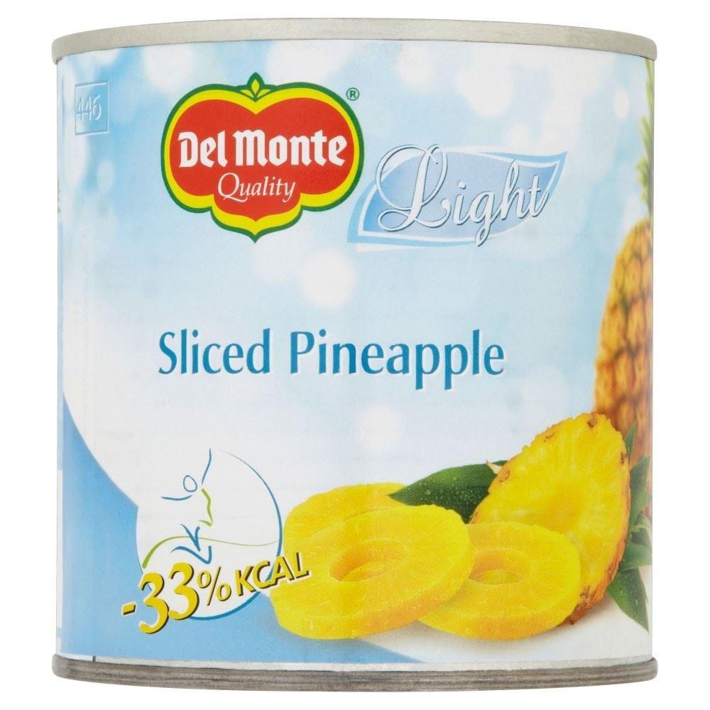 Del Monte Pineapple Slices Light (420g) - Pack of 6