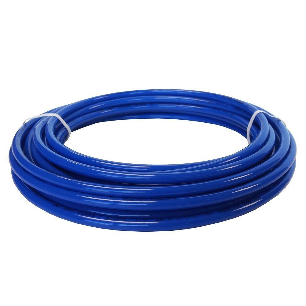 """John Guest Speedfit PE-12-EI-025F-B LLDPE Tubing 25 Feet, 3/8"""" OD, Blue"""