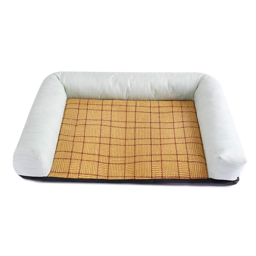 Green Large Green Large CHEN. Pet bed pet mat moisture-proof bite four seasons universal pet sleeping mat mat cat mat supplies pet supplies,Green,L