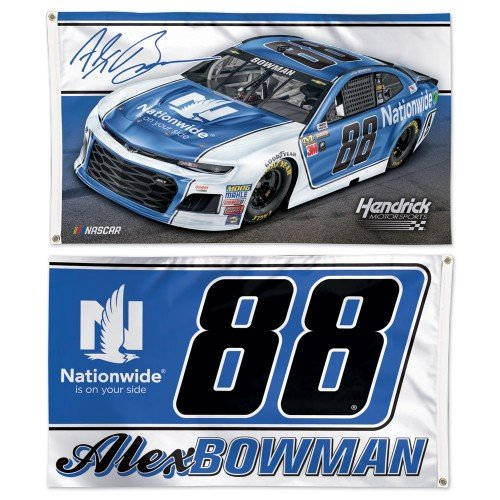 NASCAR Driver 3x5 2-Sided Flag with 2018 Graphics (Alex Bowman)