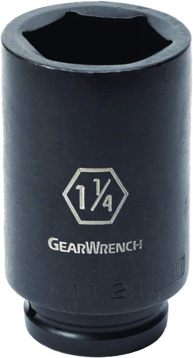 GEARWRENCH 3//4 Drive 6 Point Deep Impact SAE Socket 9//16-84890