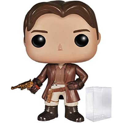 Funko Pop! TV: Firefly - Captain Malcolm Reynolds Vinyl Figure (Bundled with Pop Box Protector CASE): Toys & Games