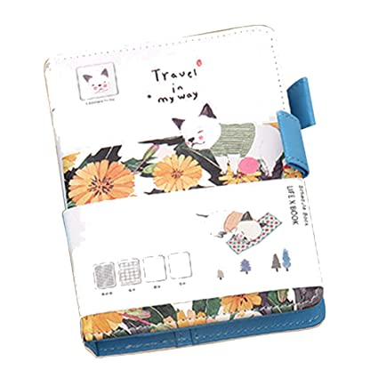 Amazon.com : Panda Kawaii Vintage Journal Notebook Leather ...