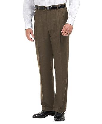 NWOT Brooks Brothers Boy/'s Dark Brown Corduroy Pleated Pants MSRP $69