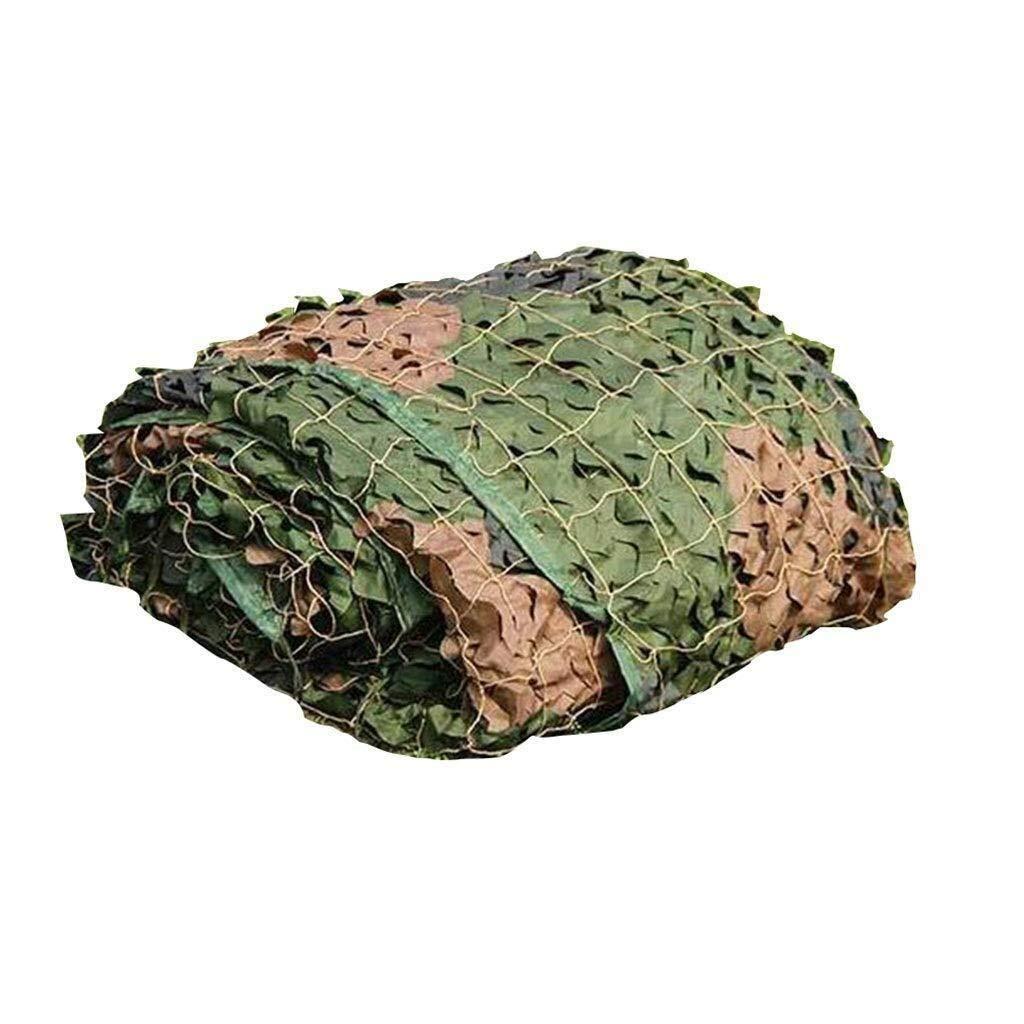 A 3x8m QNJM Toile D'ombrage, Auvent Résistant D'UV Auvent D'ombre, Filet De Camouflage Extérieur De Parasol, Terrain De Montagne Verdoyant Filet De Décoration D'intérieur (Couleur   A, Taille   3x9m)