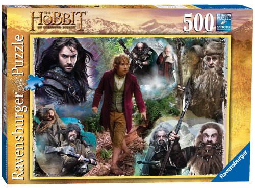Ravensburger The Hobbit Bilbo and His Companions 500 Piece Puzzle