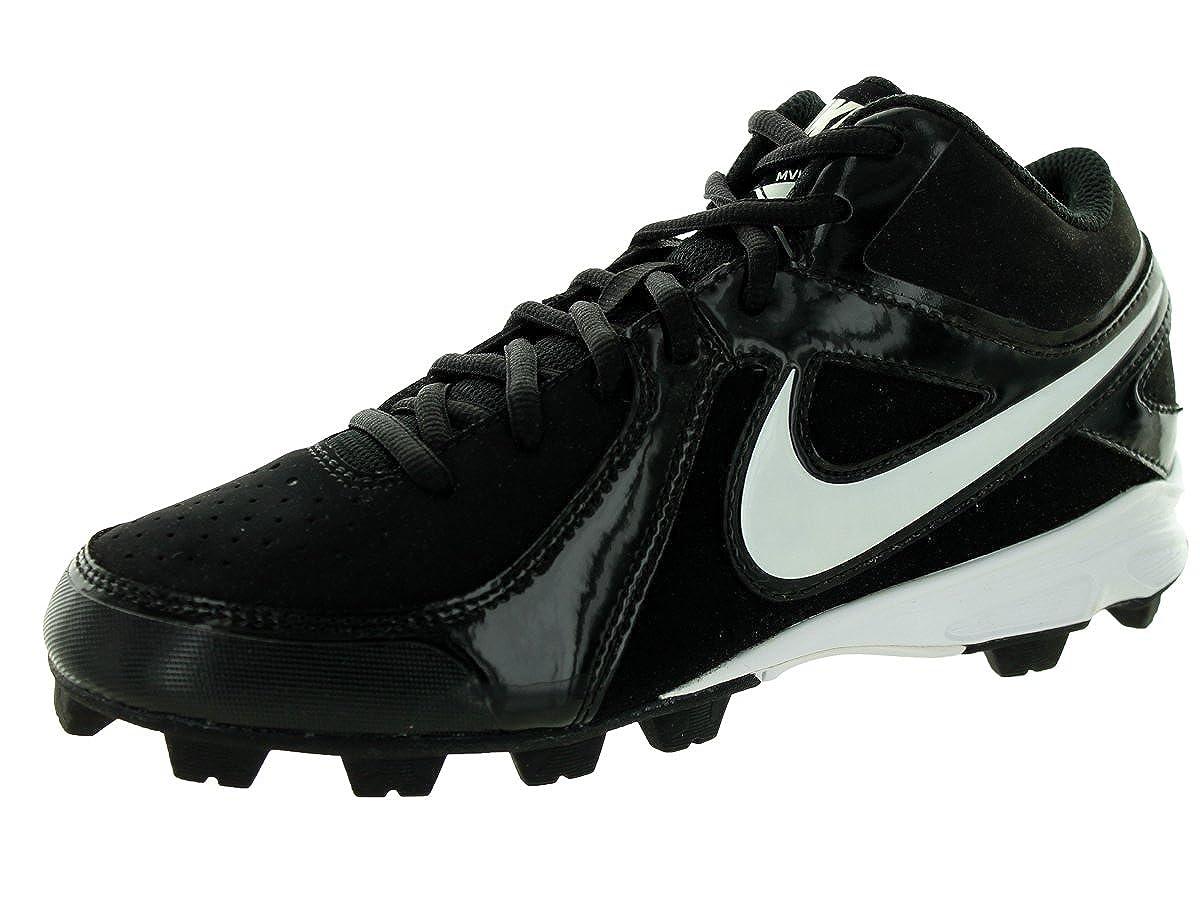 Nike Kids MVP Keystone White Synthetic Baseball Cleats