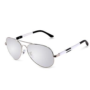 Duco Lunettes de Soleil polarisées style aviateur pour les sports de plein  air Pêche Golf 3026 6b930b7a4a94