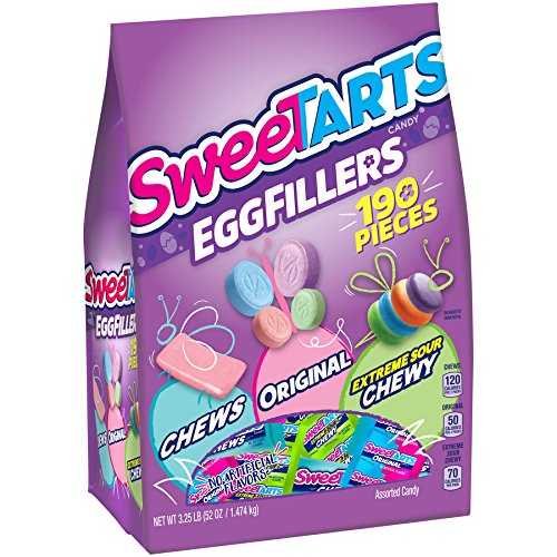 SweeTARTS Easter Candy Egg Fillers, 52 Ounce