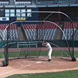 Jaypro Sports BBLS-12 Little Slam Collegiate Portable Batting Cage