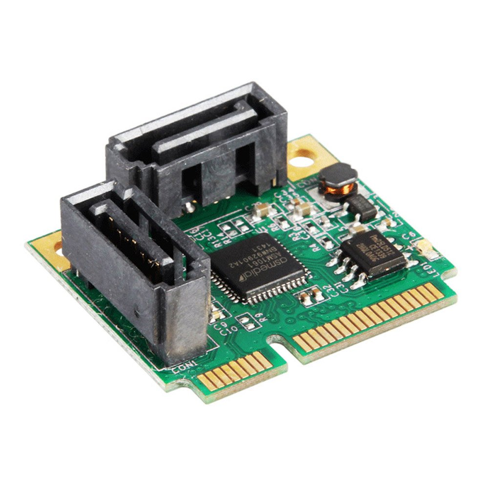 perg Transferencia 2 puertos SATA 6 G Mini PCI-E tarjeta PCI ...