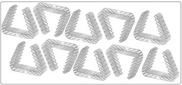 Danto® 10 Stück Fensterklammer Fensterstopper Rahmenstärke 3,0 bis 5,0 cm