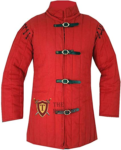 MEDIEVAL THICK PADDED LAGGING LOWER UNDER HAUBERK ARMOR GAMBESON CHAUSSES