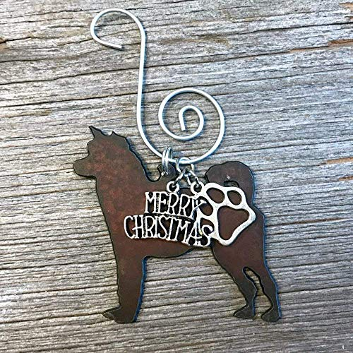 SHIBA INU, AKITA, or HUSKY Christmas Ornament, Dog Lover Gift, Gift for Dog Mom, Pet Memorial, Dog Lovers Gifts ()