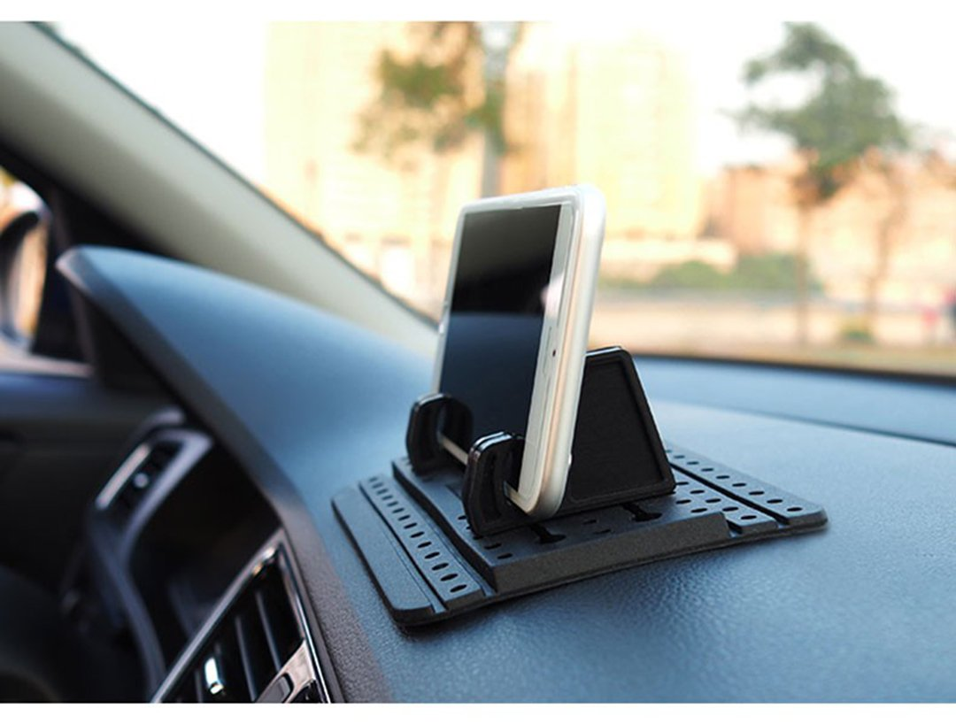 Third Generation, Dashboard Cell Phone Holder for Your Car or Office Desk   Stable Phone Mount For Car Dashboard   Logo Free For Better Car Interior Aesthetics by Gekko (Image #5)