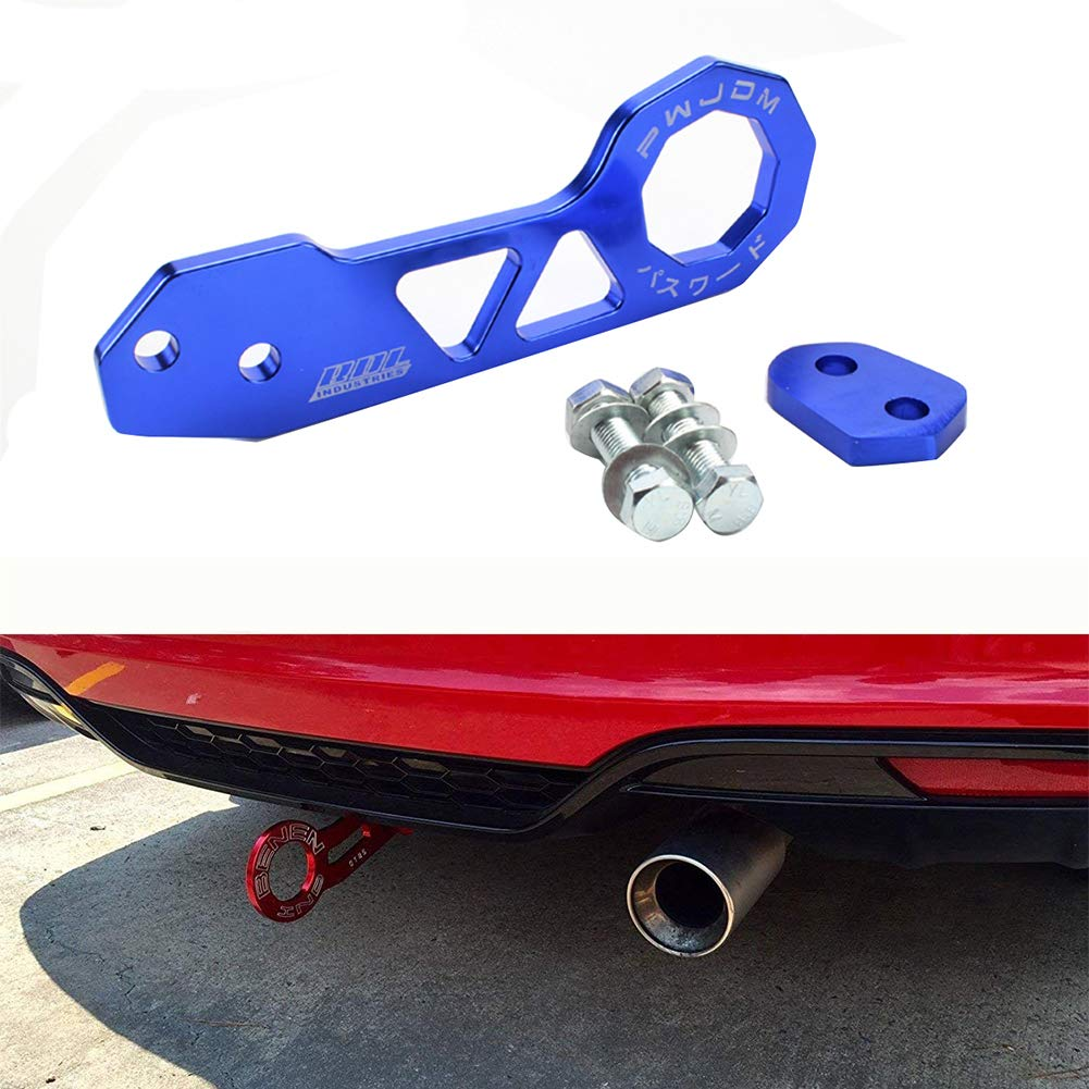 Mallalah Car Auto Trailer Ring Car Tow Hook Rear Tow Towing Hook Car Accessories for Universal Car