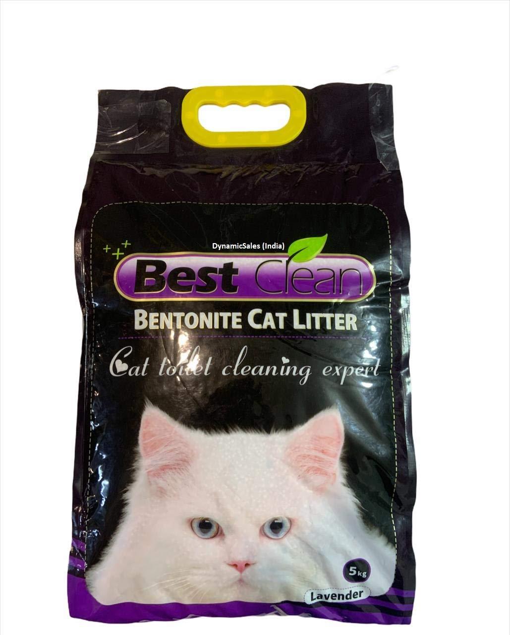 Lavender Flavor Ball Shaped Dust Free Cat Litter, 5kg