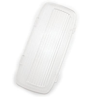 koauto Clear Plastic Car Door Lens Light Lamp Hood Cover 34261-SDA-A01: Automotive