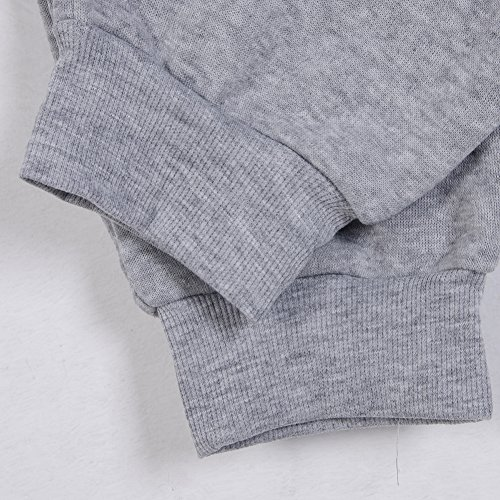 Men's Fitness Jogger Jersey Pants Sports Sweatpant With Drawstring (US S=Tag M(Asian Size), Grey)