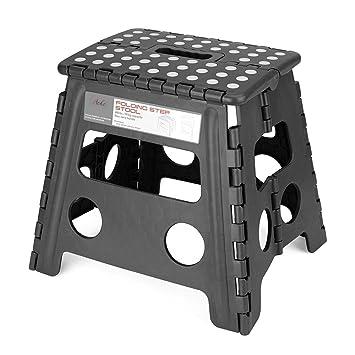 Acko Folding Step Stool - 13 inch Height Premium Heavy Duty Foldable Stool For Kids u0026  sc 1 st  Amazon.com & Amazon.com : Acko Folding Step Stool - 13 inch Height Premium ... islam-shia.org