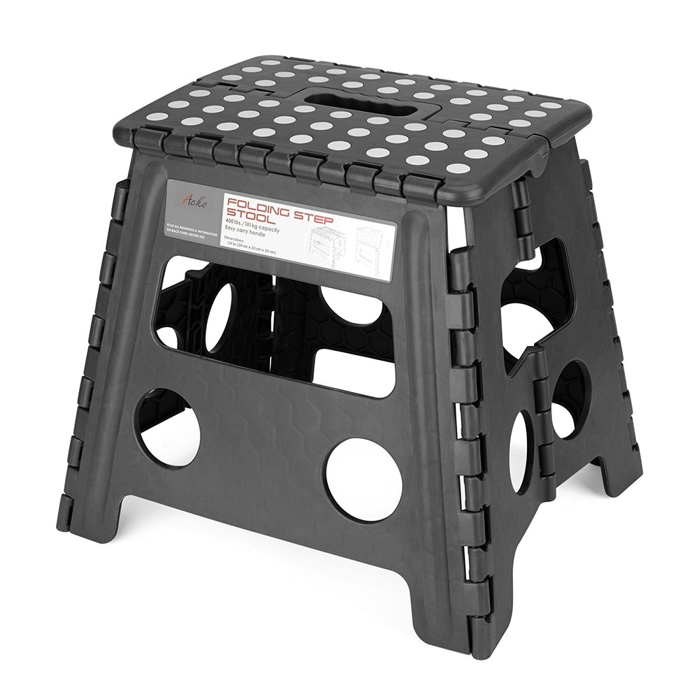 Acko Folding Step Stool - 13 inch Height Premium Heavy Duty Foldable Stool For Kids u0026  sc 1 st  Amazon.com & Amazon.com : Acko 16 Inches Super Strong Folding Step Stool for ... islam-shia.org