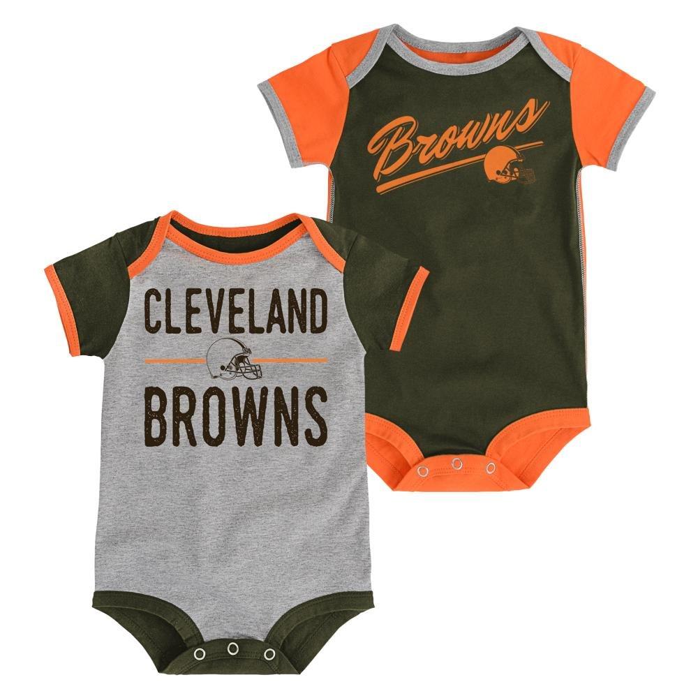 【人気急上昇】 Cleveland Brownsベビー Piece/幼児子孫