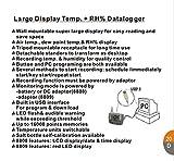 AZ8808 portable recorder high precision alarm USB Temperature and humidity hygrometer Recorder