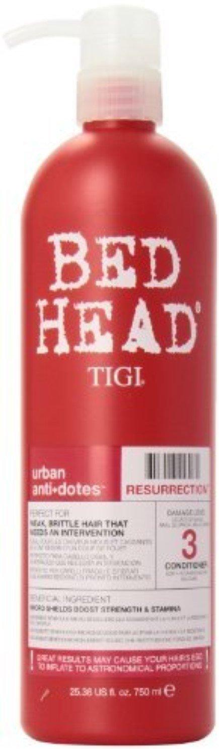 TIGI Bed Head Urban Anti+dotes Resurrection Conditioner 25.36 oz (Pack of 3)