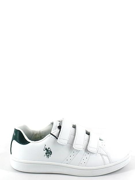 U.S.POLO ASSN. - Zapatillas para niño Gris Gris * Gris Size: 31 EU ...