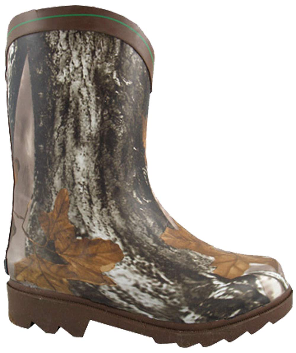 Smoky Mountain Boots Kids Boys Muddy River Boot Mid-Calf, Brown, Size 1 Us Kids