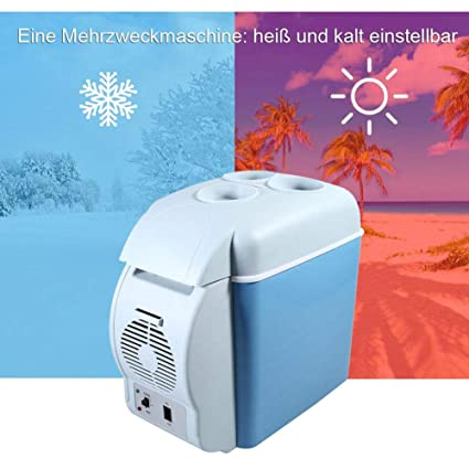 Amazon.es: EBTOOLS 7.5L Nevera de Coche, Refrigerador del Coche ...