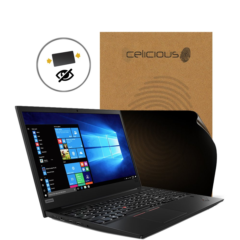 Celicious Privacy 2-Way Anti-Spy Filter Screen Protector Film Compatible with Lenovo ThinkPad E580