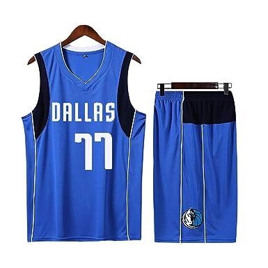 Dallas Mavericks Luka Doncic # 77 Shorts Jersey - Conjunto clásico ...