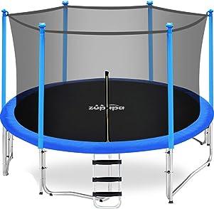 Zupapa 15 14 12 10 FT Kids Trampoline