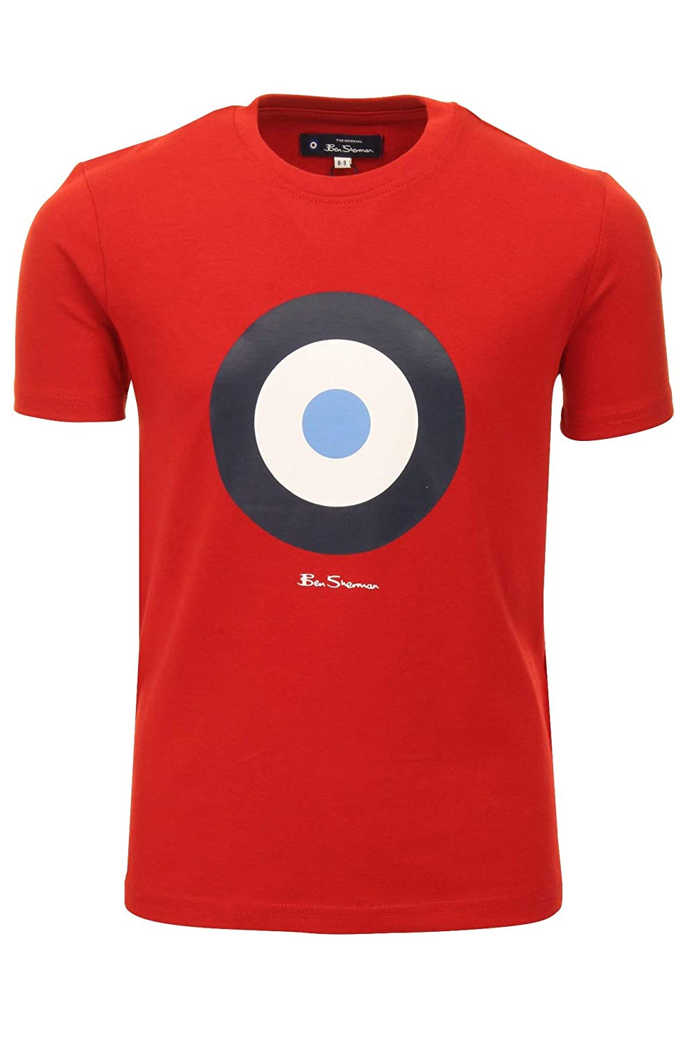 fe68ab1ec2c19c Ben Sherman Boys Target T-Shirt: Amazon.co.uk: Clothing