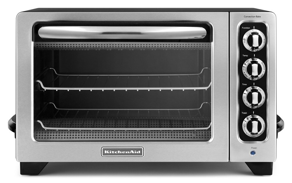 Amazon.com: KitchenAid KCO222OB Countertop Oven, Onyx Black [Discontinued]:  Kitchen U0026 Dining Design