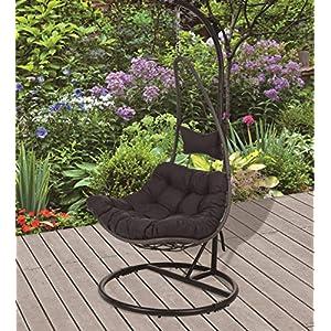 Koopman-Moon-Swing-Chair-Black