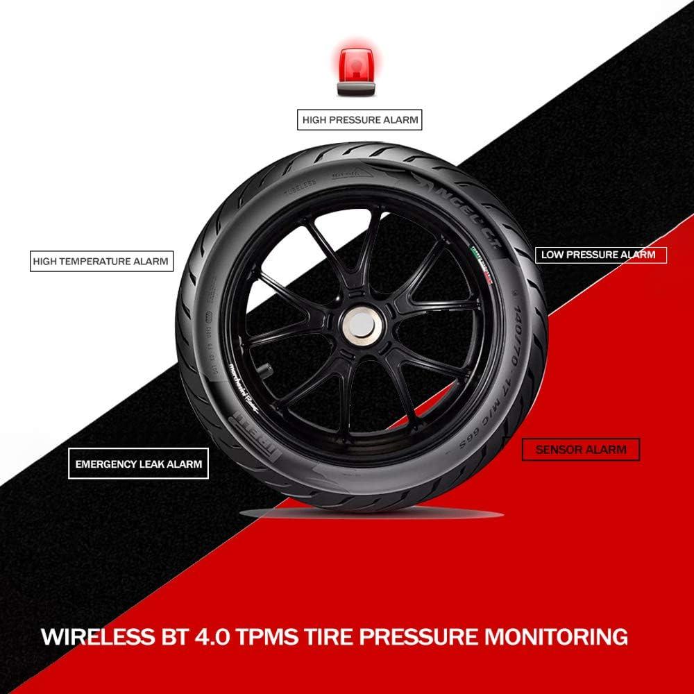 Reifendruck Prüfer Digitaler Luftdruckprüfer Bt4 0 Tpms Kabellos Monitor Für Reifendruck Erkennung Der Anwendung Des Handys Baumarkt