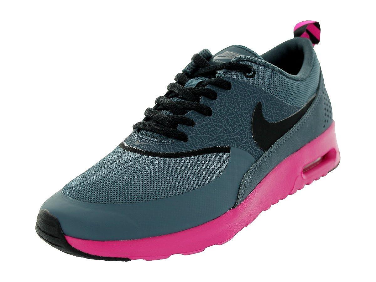 reputable site da81a 8fa0d Amazon.com   Nike Women s Air Max Thea Dk Armory Blue Black Pink Foil  Running Shoes 6 Women US   Running
