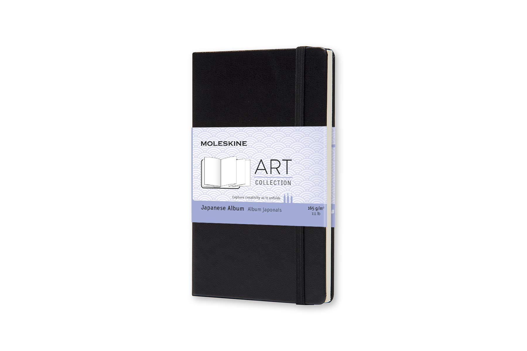Moleskine Art Plus Hard Cover Japanese Album, Plain, Pocket.