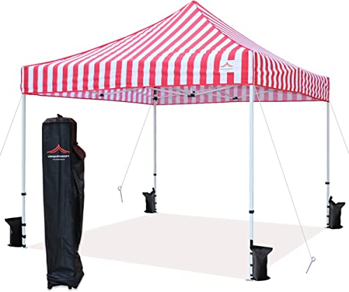 UNIQUECANOPY 10'x10' Ez Pop Up Canopy Tent Commercial Instant Shelter