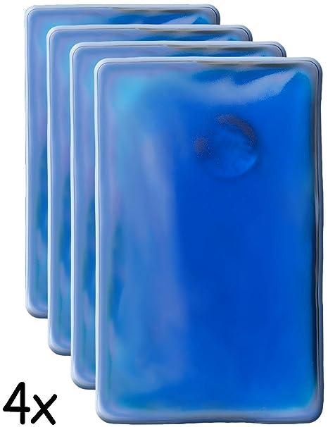 Home Tools.EU® – 4 x Cojín de calor, bolsillos de calentador | Cojín de Gel, calentador de mano, incluso de erwärmend, duradero, reutilizable, 10 x ...