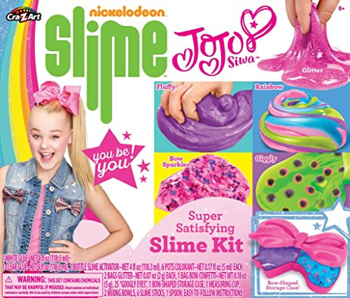 Nickelodeon CRA-Z-Art JoJo Siwa Slime Kit Multicolor, 6 x 6 by Nickelodeon