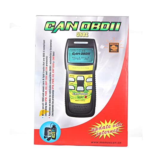Amazon.com: Memo U581 CAN OBDII/EOBDII Scan Tool Atuo Car Code Reader Scanner Diagnostic Tool: Automotive