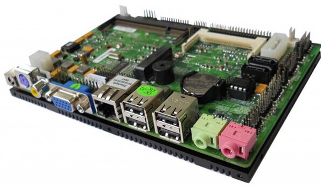 wtm-e28 sin ventilador placa base, procesador AMD Atom N270, VGA ...
