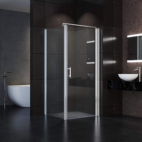 Nischentür Duschkabine Schulte Drehtür Duschabtrennung Duschtür Echtglas Dusche