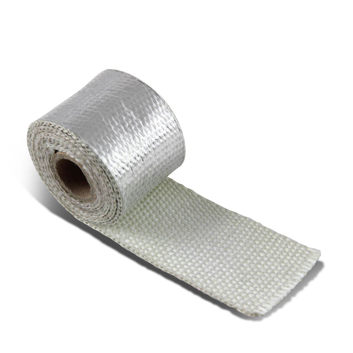 7.5-Meter Aluminum Coated Exhaust Heat Wrap for Header//Catback//Turbo Manifold//Downpipe