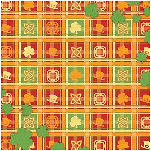 KAREN FOSTER Design Scrapbooking Paper, 25 Sheets, Celtic Plaid, 12 x 12